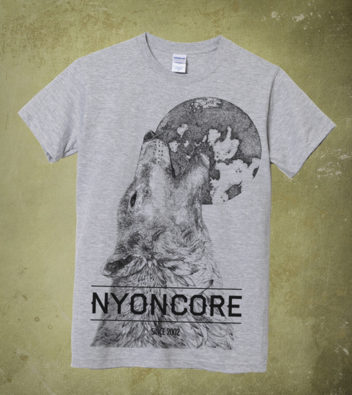 T-shirts Nyoncore Wolf Gris