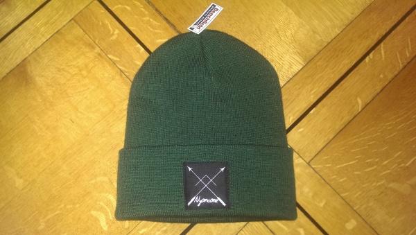 Bonnet Arrows Vert-bouteille