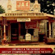Luke Hilly & The Cavalry + Jakstaff stompin'blues harp from the barn - Split Vinyl 7'